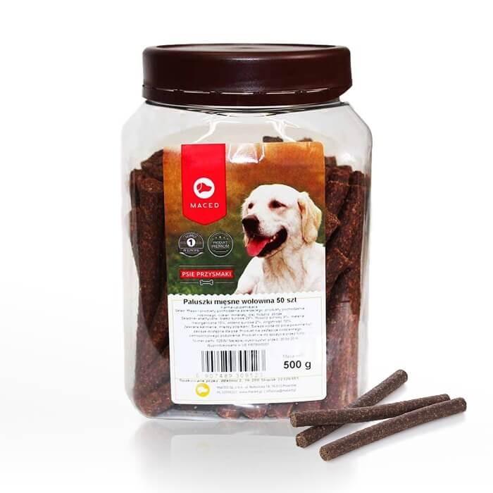 Przysmaki dla psa - Maced Paluszki mięsne wołowina 50szt