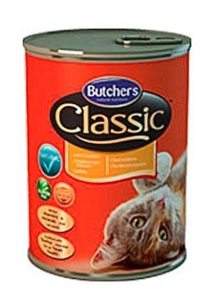 Karmy mokre dla kota - Butchers Classic kurczak 4x400g