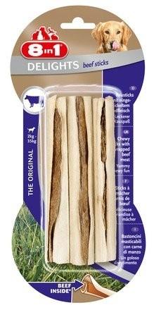 Przysmaki dla psa - 8in1 Beef Delights Sticks 3szt.