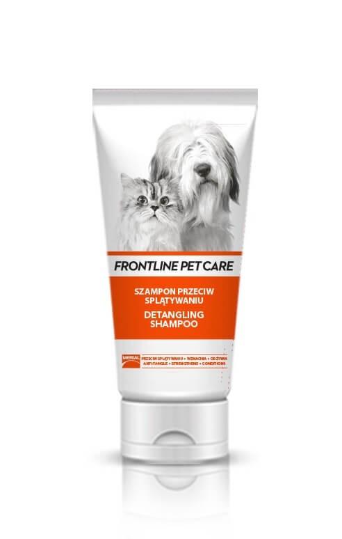 Higiena, pielęgnacja sierści - Frontline Szampon Pet Care Detangling dla długiej sierści 200ml