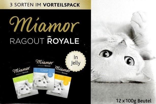 Karmy mokre dla kota - Miamor Ragout Royale Mix z królikiem w galaretce 12x100g