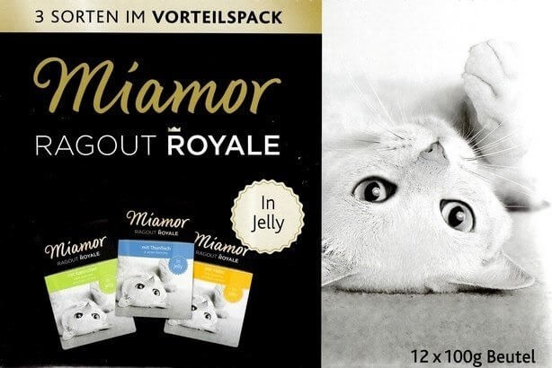 Karmy mokre dla kota - Miamor Ragout Royale Mix w galaretce 12x100g