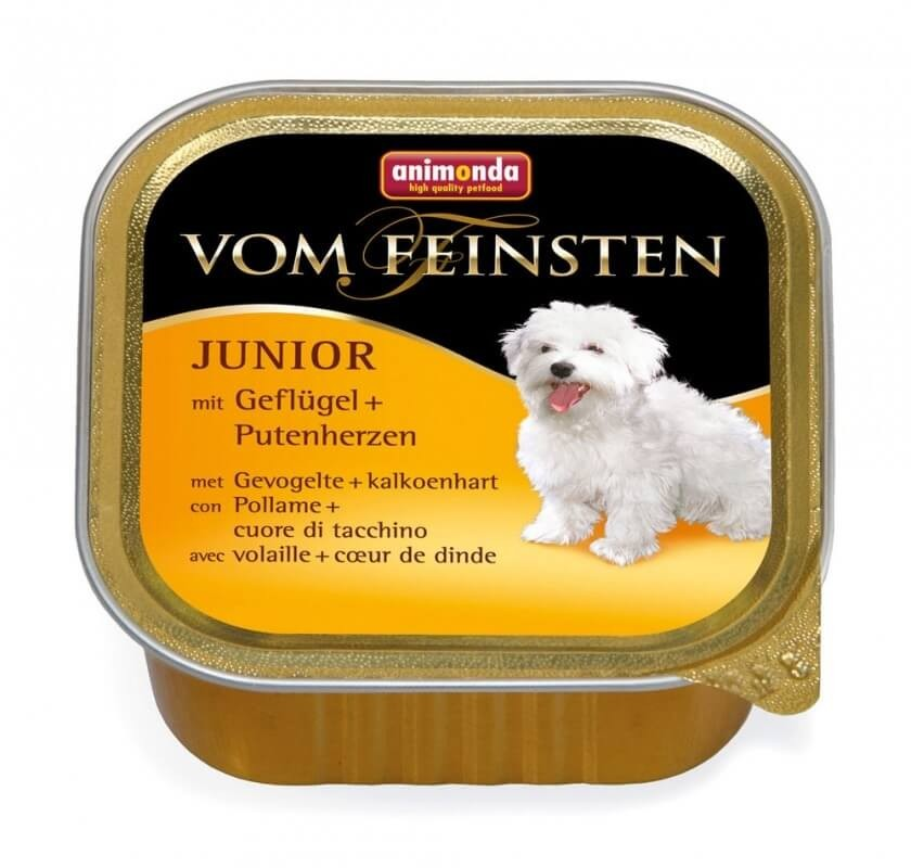 Karmy mokre dla psa - Animonda Vom Feinsten Junior 150g x 12
