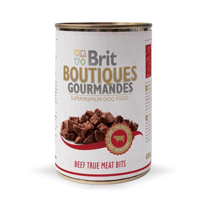 Karmy mokre dla psa - Brit Boutiques Gourmandes 400g x 12