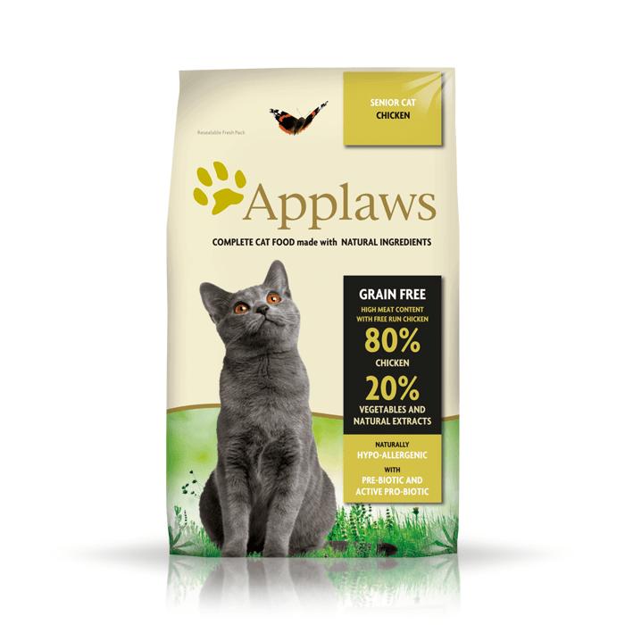 Karmy suche dla kota - Applaws Senior Chicken