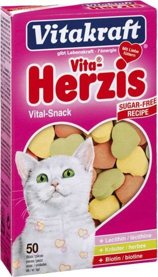 Przysmaki dla kota - Vitakraft Kot Herzis 50szt.