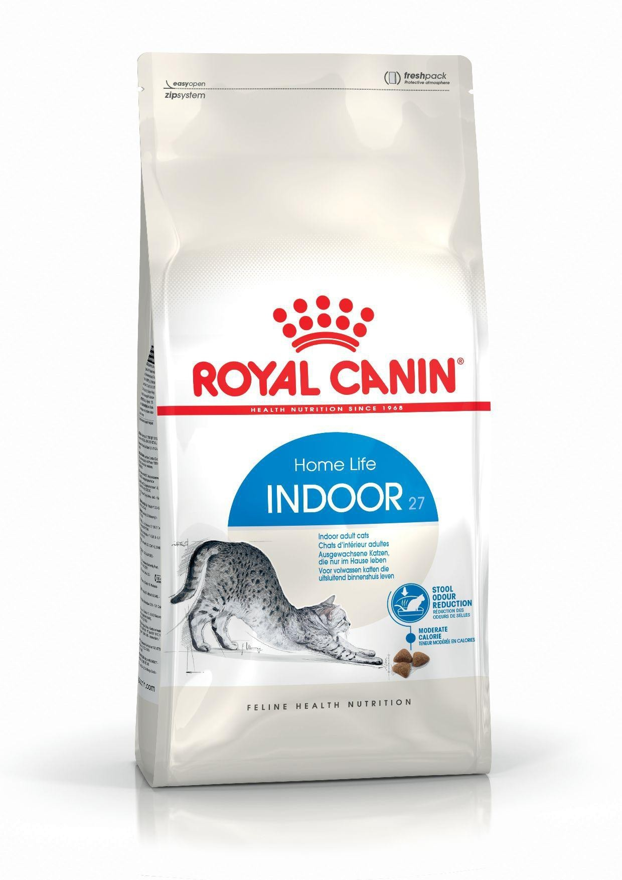 Karmy suche dla kota - Royal Canin Indoor 27