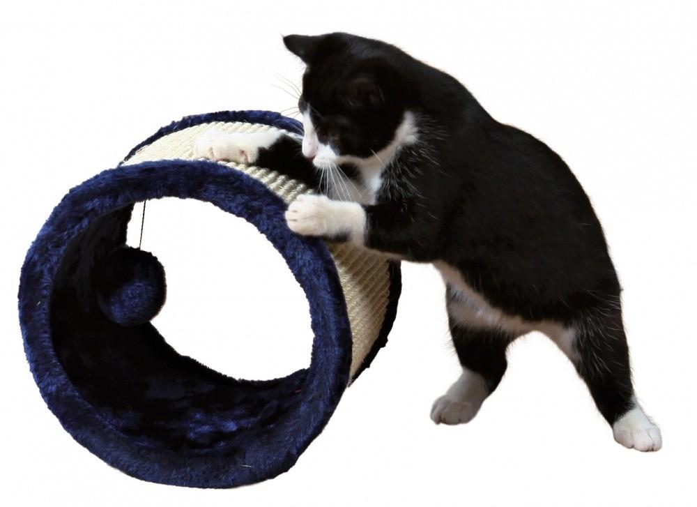Drapaki, tunele dla kota - Trixie Drapak rolka do zabawy dla kota 23cm