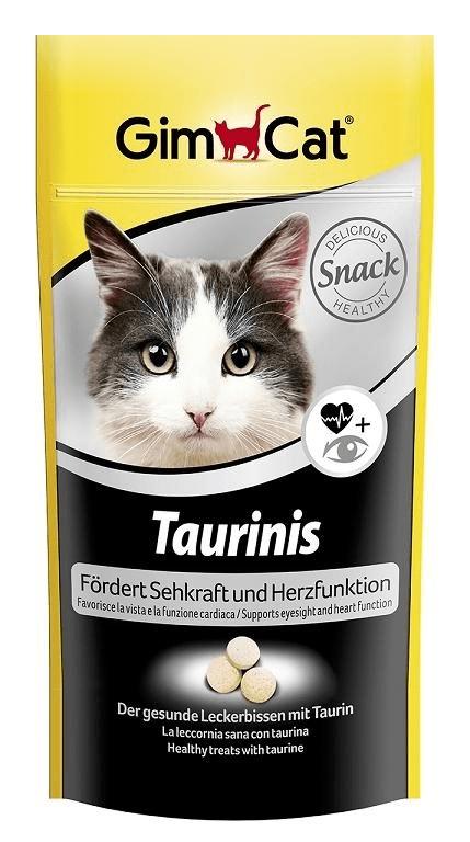 Suplementy - Gimpet Taurinis- tabletki z tauryną dla kota 40g