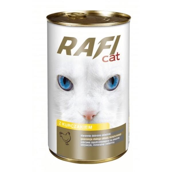 Karmy mokre dla kota - Rafi w sosie 415g x 12