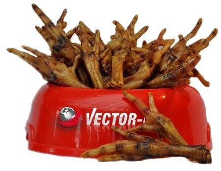 Przysmaki dla psa - Vector-Food kurze łapki stopki suszone 50szt.