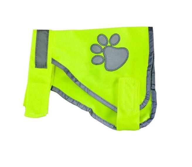 Ubranka dla psa - Trixie Kamizelka odblaskowa dla psa