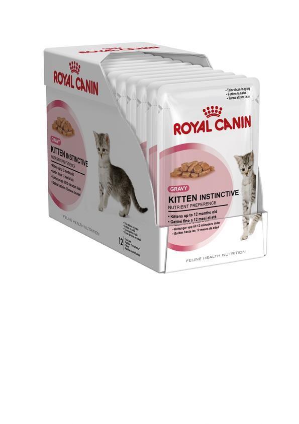Karmy mokre dla kota - Royal Canin Kitten Instinctive w sosie 6x85g