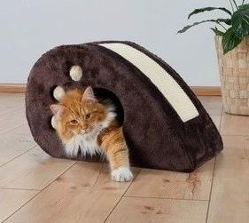 Drapaki, tunele dla kota - Trixie Drapak mysz 53x31x32cm