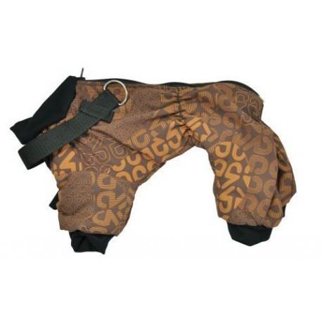 Ubranka dla psa - Chaba Kombinezon ocieplany brązowy [rozmiar 1] 23cm