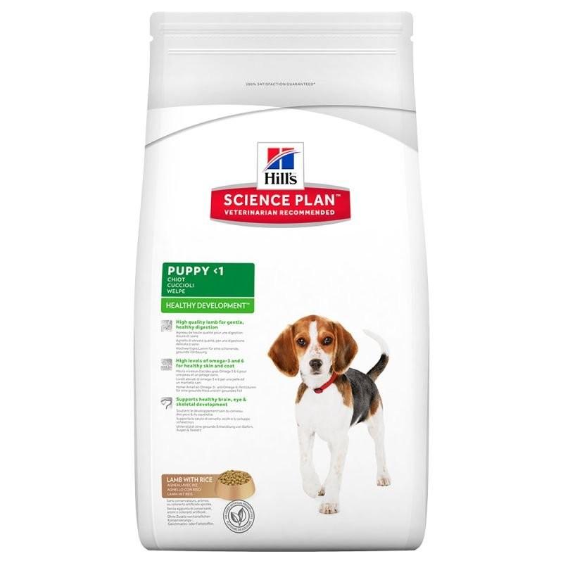Karmy suche dla psa - Hill's Science Plan Healthy Development Puppy Lamb & Rice