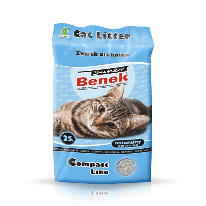 żwirek dla kota - Żwirek Super Benek Compact