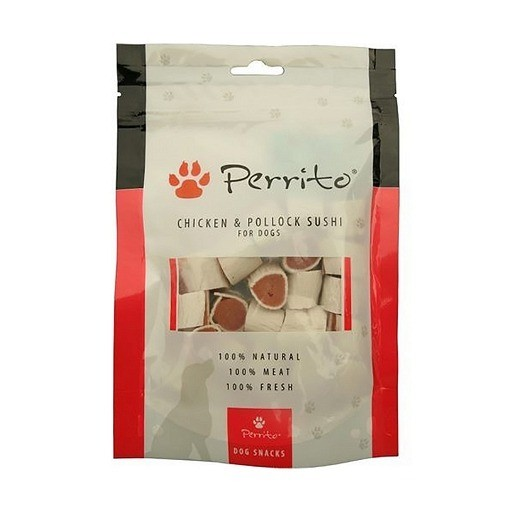 Przysmaki dla psa - Perrito Chicken & Pollock sushi 100g