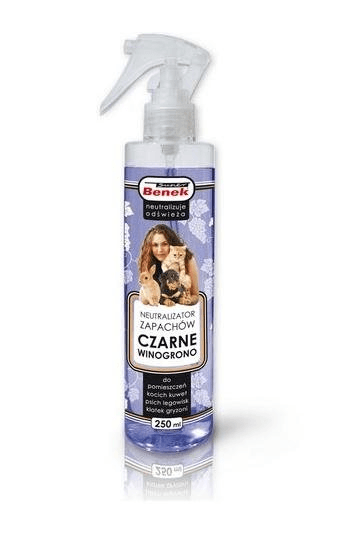 Super Benek neutralizator zapachów czarne winogrona spray 250 ml