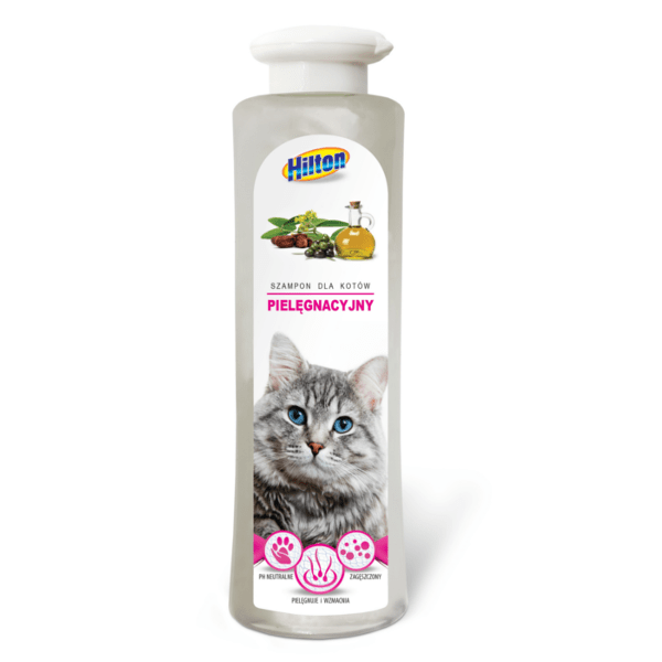 Higiena, pielęgnacja sierści - Hilton Szampon dla kotów długowłosych 200ml