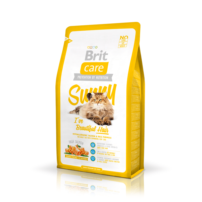 Karmy suche dla kota - Brit Care Cat Sunny I've Beautiful hair