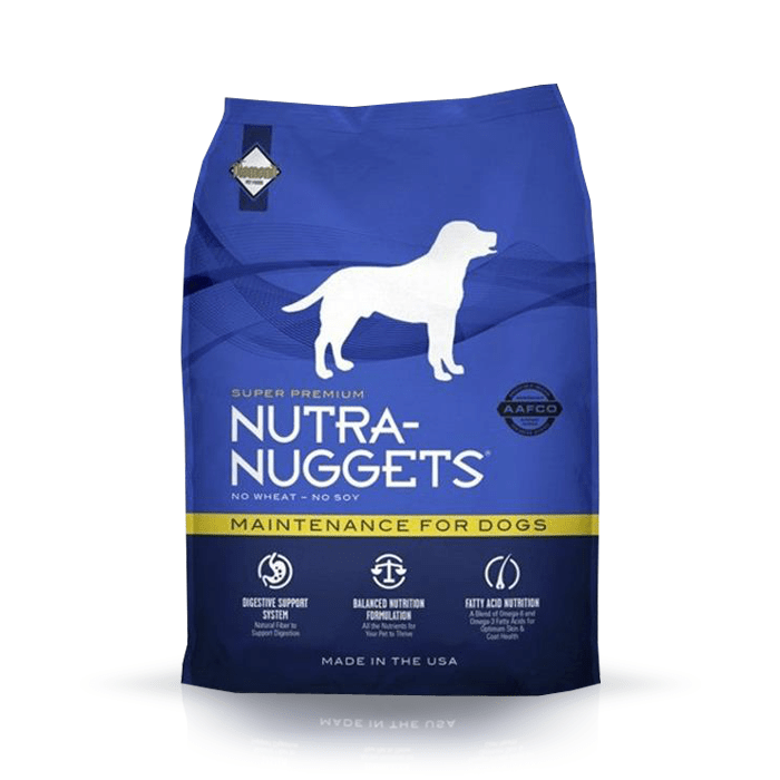 Karmy suche dla psa - Nutra Nuggets Adult Maintenance
