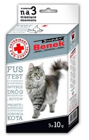 Suplementy - Benek FUS Test - wczesne wykrywanie infekcji dróg moczowych 3x10g