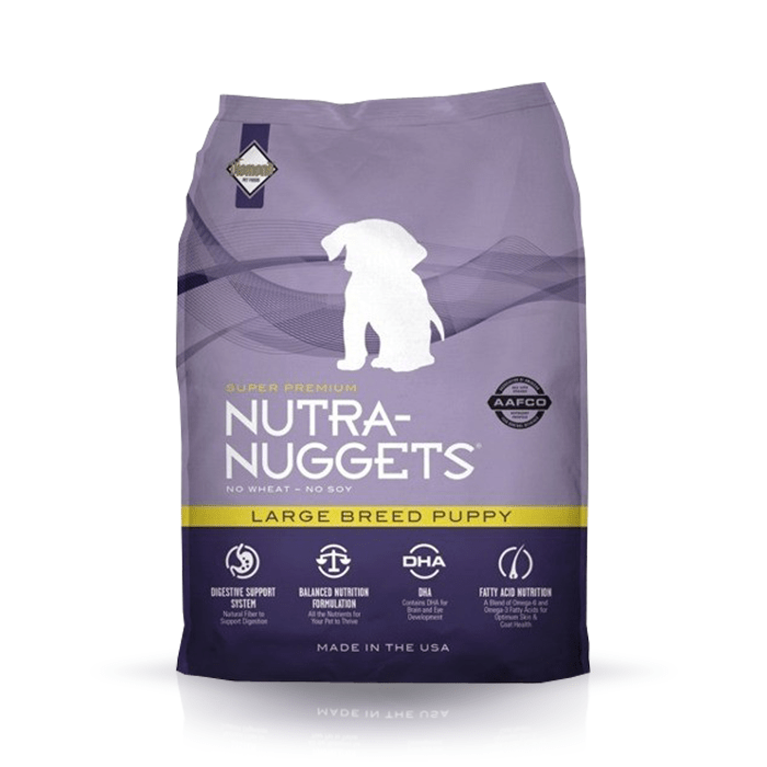 Karmy suche dla psa - Nutra Nuggets Puppy Large