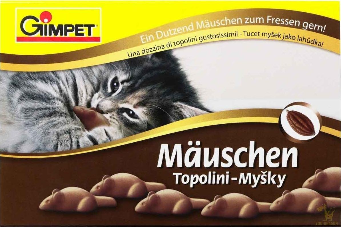 Przysmaki dla kota - Gimpet Mauschen przysmak dla kota 35g