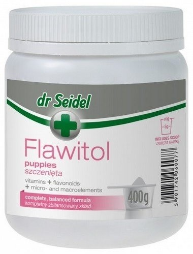 Dr Seidel Flawitol dla szczeniąt  proszek 400g