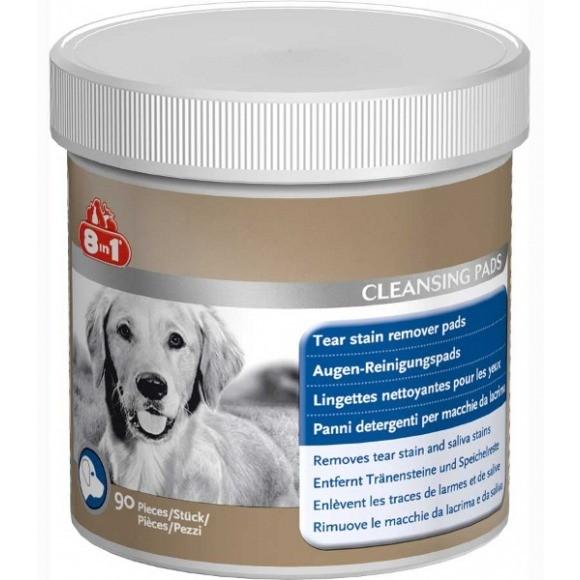Higiena, pielęgnacja oczu, uszu, zębów - 8in1 Eye Cleansing Pads - Płatki do czyszczenia oczu 90szt