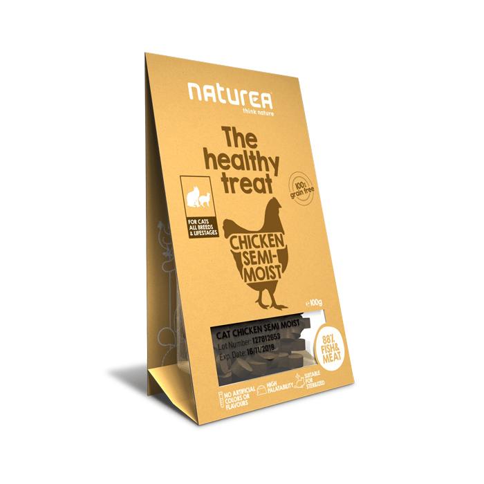 Przysmaki dla kota - Naturea Healthy Treat bezzbożowy kurczak 100g