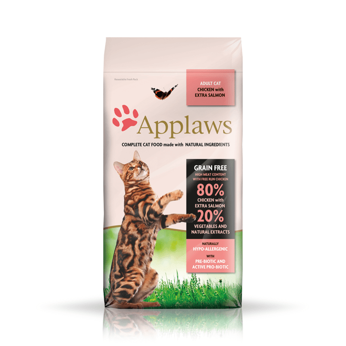 Karmy suche dla kota - Applaws Adult Chicken & Salmon