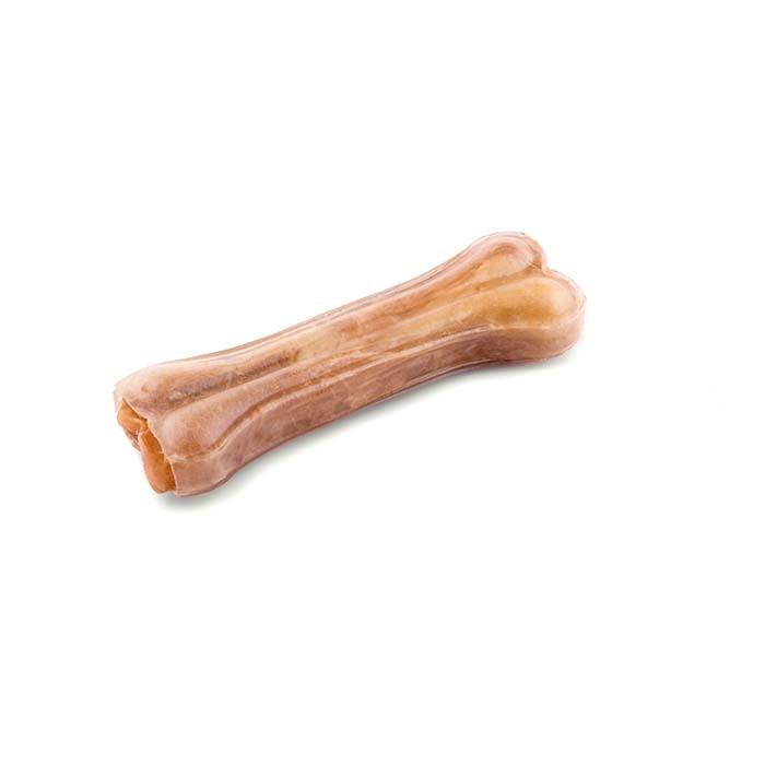 Przysmaki dla psa - Maced Kość naturalna prasowana 13cm