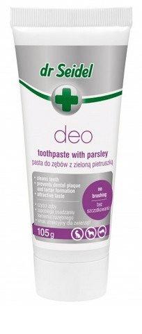 Higiena, pielęgnacja oczu, uszu, zębów - Dr Seidel Deo-Pasta - higiena jamy ustnej 105g