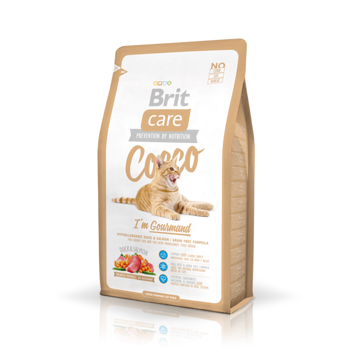 Karmy suche dla kota - Brit Care Cat Cocco I'm Gourmand