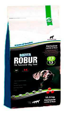 Karmy suche dla psa - Bozita Robur Genuine Lamb & Rice 12,5kg