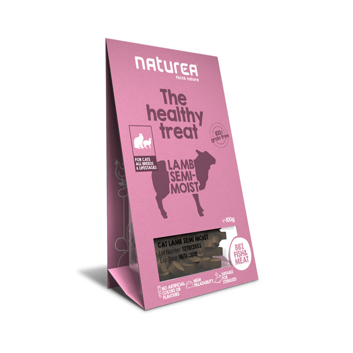 Przysmaki dla kota - Naturea Healthy Treat bezzbożowy jagnięcina 100g