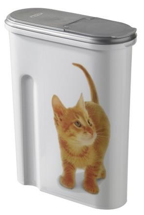 Akcesoria do karmienia - Curver Pet Life Pojemnik na kocią karmę 1,5kg