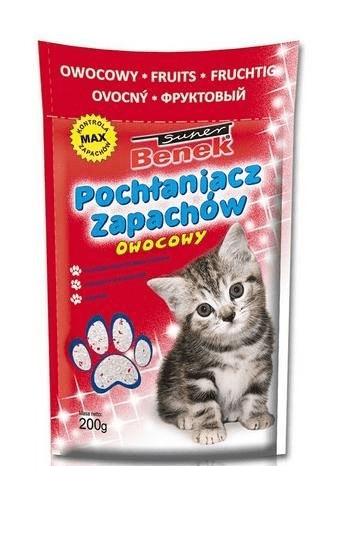Kuwety, łopatki dla kota - Benek pochłaniacz zapachów owocowy 200g