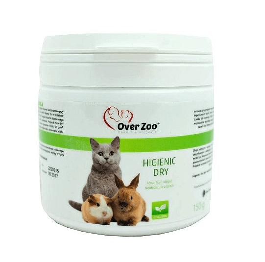 Kuwety, łopatki dla kota - Over zoo neutralizator higienic dry 150g