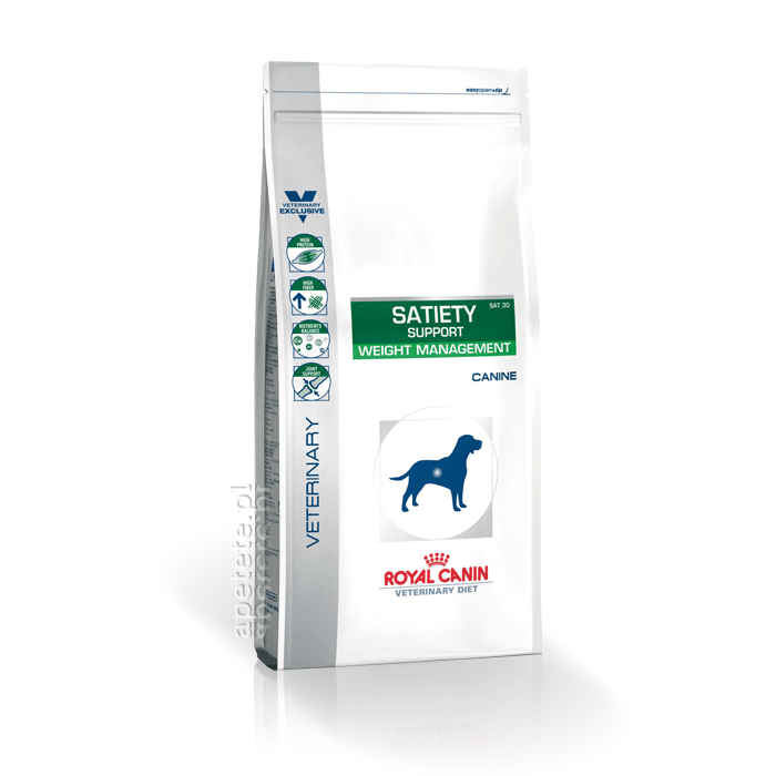 Karmy suche dla psa - Royal Canin Veterinary Diet Canine Satiety Support Weight Managment SAT30