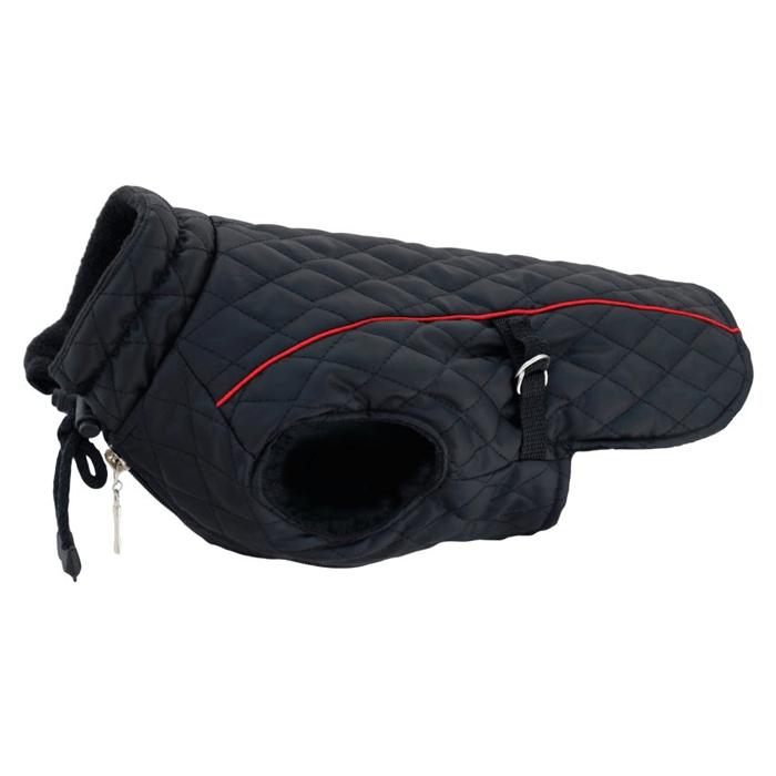 Ubranka dla psa - Grande Finale Kurtka pikowana czarna [rozmiar 2]