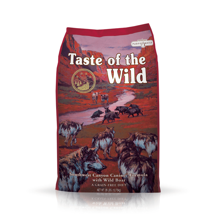 Karmy suche dla psa - Taste of the Wild Southwest Canyon 6kg
