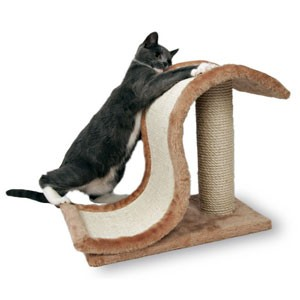 Drapaki, tunele dla kota - Trixie Drapak Inca Fala 44x25x39cm