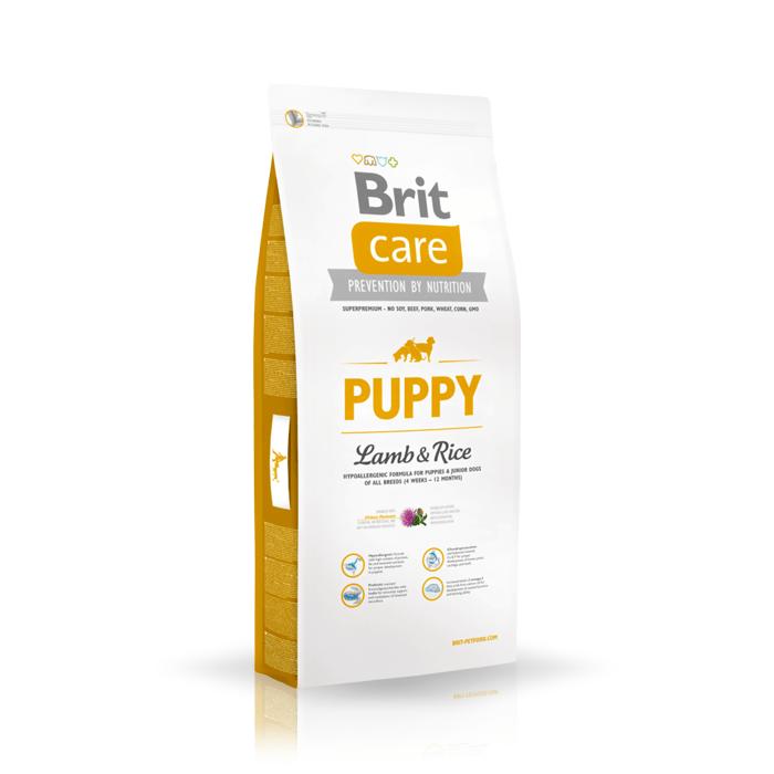 Karmy suche dla psa - Brit Care Puppy Lamb & Rice