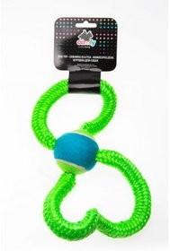 Zabawki - Comfy Zabawka Gummy Sznur z piłką 33cm