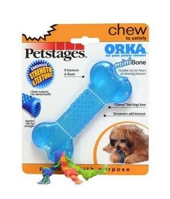 Zabawki - Petstages Orka Mini Kosteczka