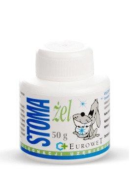 Higiena, pielęgnacja oczu, uszu, zębów - Stoma-żel - pasta do pielęgnacji uzębienia kotów i psów 50g