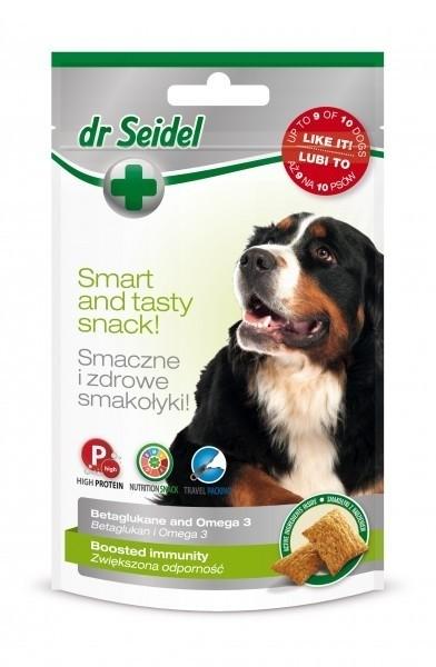Przysmaki dla psa - Dr Seidel Smakołyki dla psów na odporność 90g